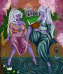 Eskella and Eda by rozziblue