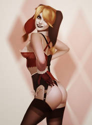 Harley Quinn by achibner