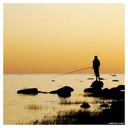 Evening Fishing ... by bestfuture