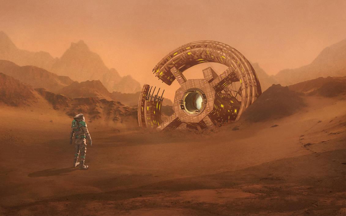 Day On Mars by mohamedsaberartist