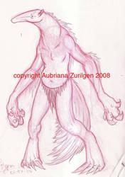 Anteater Man by Terra-fen