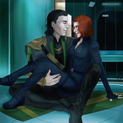 Loki x Nat by Crazy-Zeitgeist