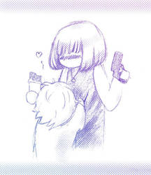 Chocolate, guns and... by Lun-san