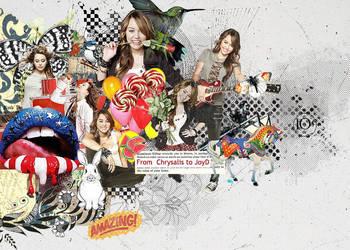 Smiley Miley by JL-Chrysalis