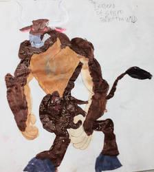 Giant Minotaur by masonthetrex