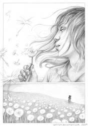 Dandelions by Aerilien