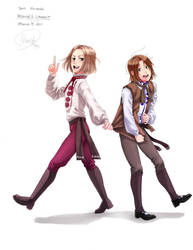 Two standing: Poland+Lithuania by Nana-Boshi