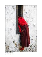 Tibet's Monks I by FelixTo