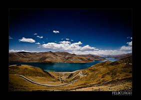 Gyatse - Lhasa by FelixTo