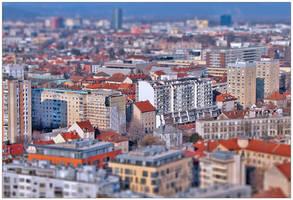 Ljubljana miniature by easwee