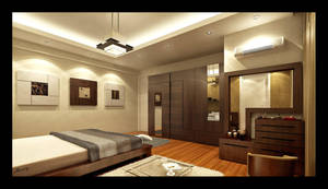 Bed Room Interior 2 by mohamedmansy