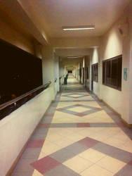 Hallway by Mhelford