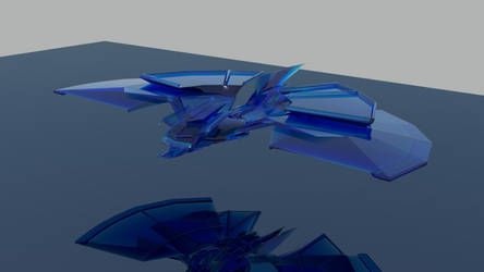spaceship final render by kiranbv