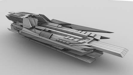 cargo ship by kiranbv