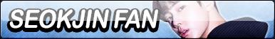 Seokjin Fan Button by JustButtons
