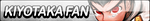 Kiyotaka Fan Button by JustButtons