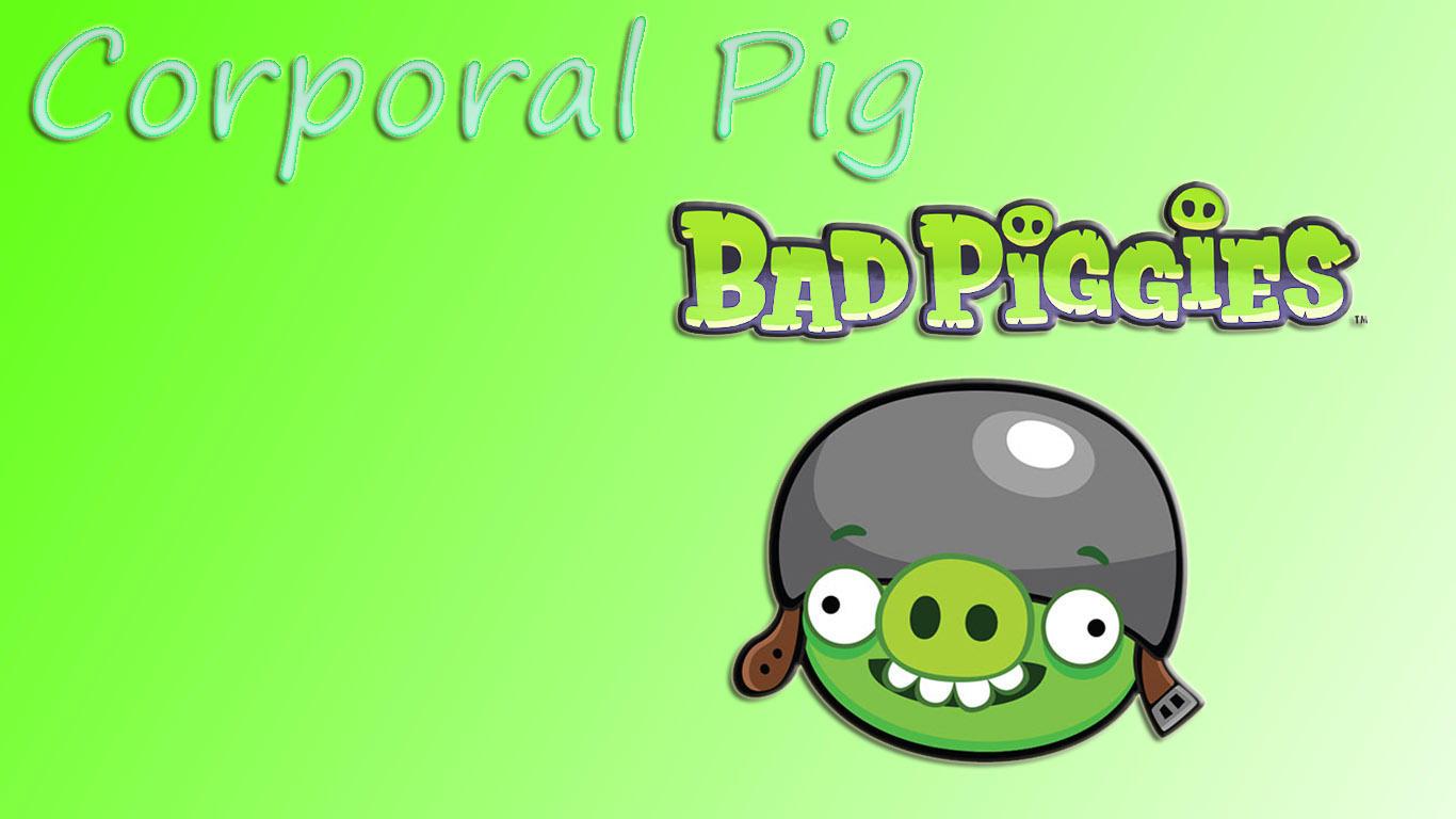 Bad Piggies Corporal Pig Wallpaper By Misu681 On Deviantart