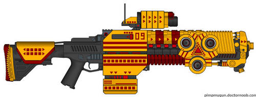 Thunder Hawk Assault Cannon by Khorre