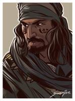 Ardeth Bay Portrait by solidasp
