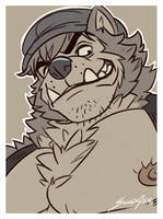 Wolfalon Portrait by solidasp