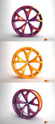 Citroen C-Prototype Wheel by paulodesign
