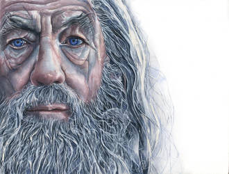 Ian McKellen as Gandalf by proxi-mity