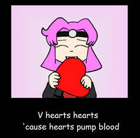 V hearts hearts by TMason