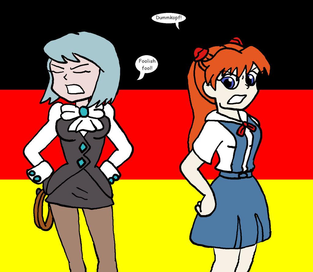 July Damsel vs Damsel - German Girls by TMason