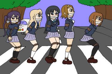 K-On Abbey Road by TMason