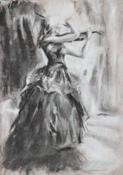 violinist by StoneBattleAxe