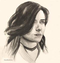 Yenefer sketch2 by StoneBattleAxe