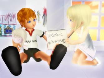 Happy RokuNami Day 3 by SorasPrincesss