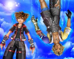 Kingdom Hearts and Final Fantasy by SorasPrincesss