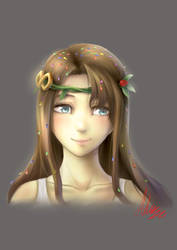 Confetti Goddess by Adeshark