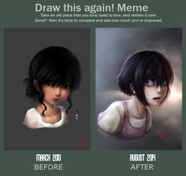 Draw this again! by Adeshark