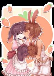 Bunny Love by Adeshark