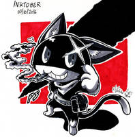 Morgana (inktober) by SuperMisurino