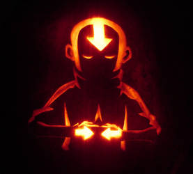 Aang: the Last Pumpkinbender by TheDaneOf5683