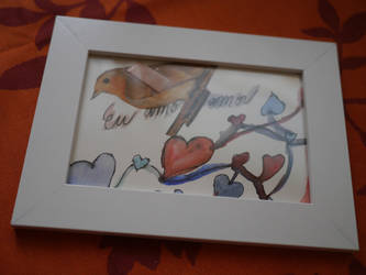 Eu amo o amor or Heart broken bird by LiaLavender