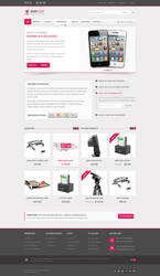 Shoploop: clean and modern eCommece PSD by ahmedchan