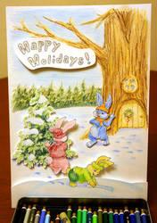 Christmas card by MisterLuca