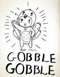 Gobble Gobble by LxRen