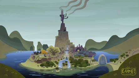 The Island by bubblegumrobot