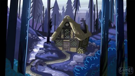 Cottage by bubblegumrobot