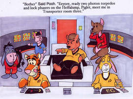 Pooh Trek by RABBI-TOM