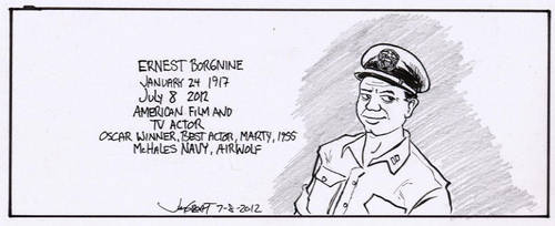 RIP Ernest Borgnine by RABBI-TOM