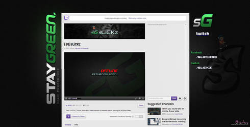 sLiCKz twitch.tv layout by MissyMLam