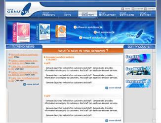 Vinagenuwin website demo by x4