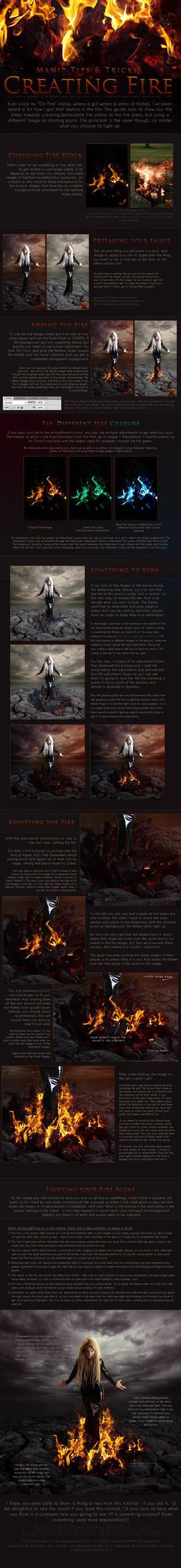 Manip T+T - Creating Fire by kuschelirmel-stock
