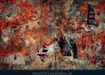 Grunge Wall Texture by kuschelirmel-stock